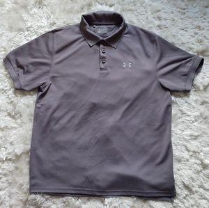 Under Armour grey heatgear t-shirt sz L